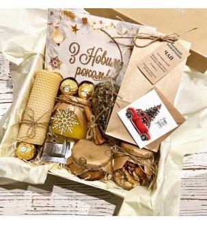 Новорічний подарунковий набір чаю №315 Подарунки на Новий Рік - 1