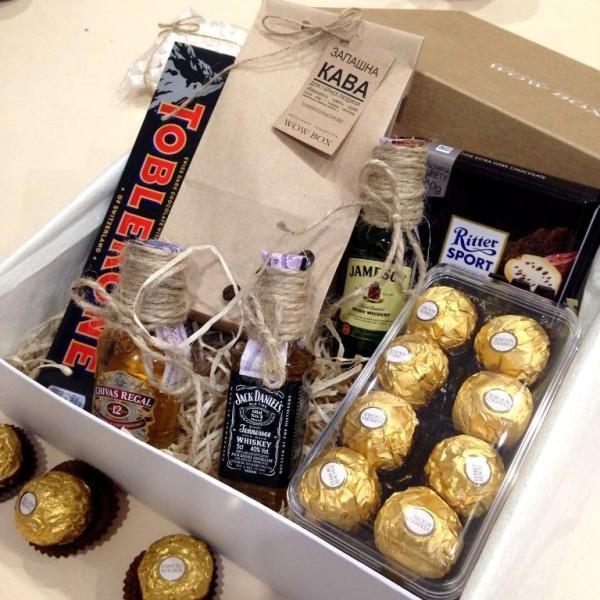 """Набір в подарунок """"Кава з шоколадом"""""""