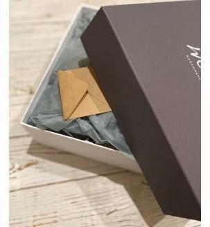 Подарунковий набір з вином, горіхами і шоколадом №303 Подарунки WOW BOX - 1