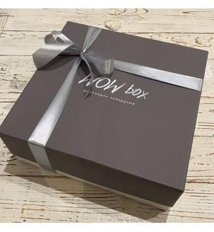 Подарунковий набір з вином, горіхами і шоколадом №303 Подарунки WOW BOX - 2