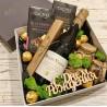 Подарочный набор с вином, орехами и шоколадом №303 Подарки WOW BOX - 4