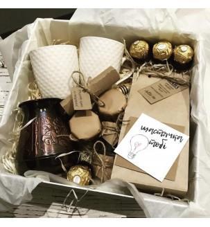 Кофейный бокс с турочкой и рецептом №300 Подарки WOW BOX - 4