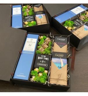 Элитный подарочный набор с виски макален для партнеров