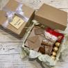 Корпоративний подарунок з чаєм та солодощами №504