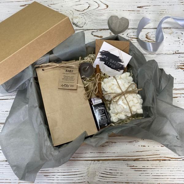 Кава з віскі у подарунковій упаковці