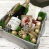 подарунковий бокс з вином від миколая