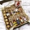 Подарочный набор мини бутылочек алкоголя 10 шт