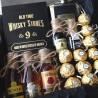 Камни для виски и фляга джек дениалс в наборе с мини алкоголем