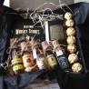 Камни для виски и фляга джек дениалс в наборес виски и конфетами