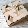 Женский набор косметики L в деревянной коробке