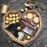 Дерев'яне серце з віскі та смаколиками Чоловічі подарункові набори - 5