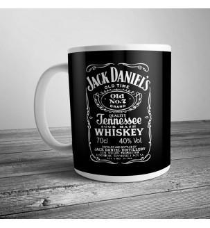 Чашка з принтом Jack Daniel's купить на подарок