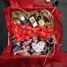 Подарок с мини бутылочками алкоголя 6