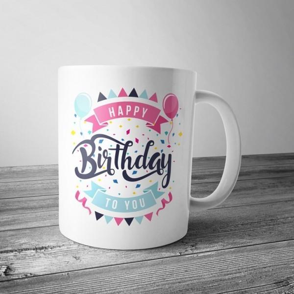 Чашка Happy birthday to you купить