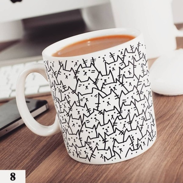 Чашка с котиками