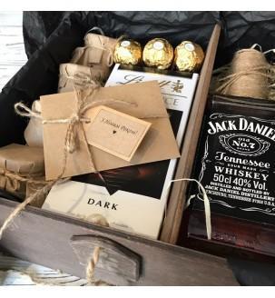 """Новогодний подарок мужу """"Шоколад виски"""" №2 Подарки на Новый Год - 3"""