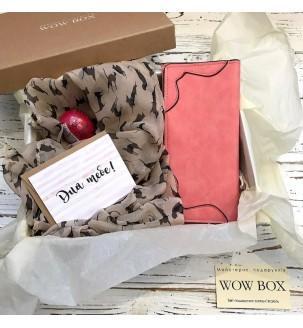 Подарунок дівчині на День Народження з гаманцем Жіночі подарункові набори - 2