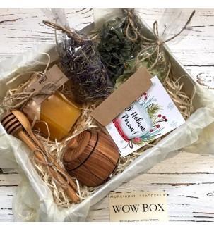 Медовый набор с травами Подарки на Новый Год - 1