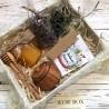 Медовий набір з травами Подарунки на Новий Рік - 1
