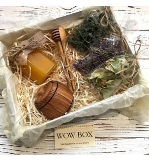 Медовый набор с травами Подарки на Новый Год - 2