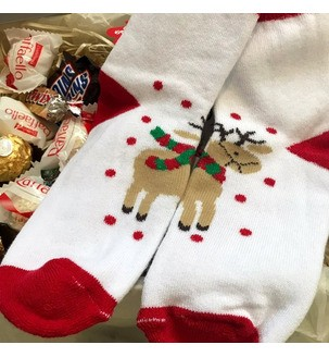Набор новогодних сладостей для ребенка Подарки на Новый Год - 3