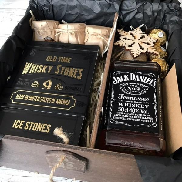 """Новогодний подарок мужу """"Камни и виски"""" №1 Подарки на Новый Год - 1"""
