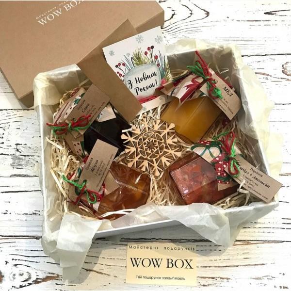 Варення і мед в подарунковій коробці Подарунки на Новий Рік - 1