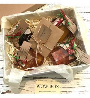 Варенье и мед в подарочной коробке Подарки на Новый Год - 3