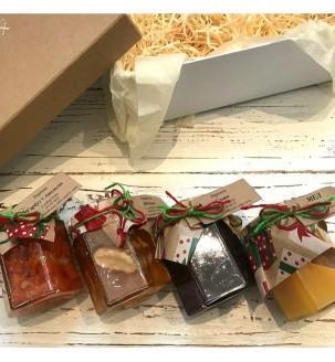 Варенье и мед в подарочной коробке Подарки на Новый Год - 4