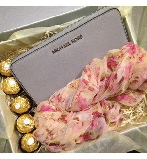 Набір з жіночим гаманцем Michael Kors від вау бокс