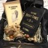 Коробка для алкоголю з камінням для віскі №158 Подарункові набори з приводу і без - 1