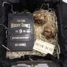 Коробка для бутылки с камнями для виски №158