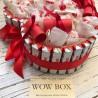 Шоколадне серце з кіндер і Рафаель Подарунки WOW BOX - 2