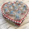 Серце з Kinder шоколаду та з Кіндер-сюрпризом