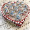 Сердце из Kinder шоколада и Киндер сюрпризов