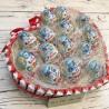 Шоколадне серце з кіндер Подарунки WOW BOX - 3