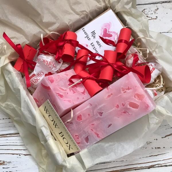 """Подарунковий набір """"Декоративні свічки"""" №193"""