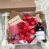 """Подарунковий набір """"Романтичний"""" №192 Подарунки WOW BOX - 2"""