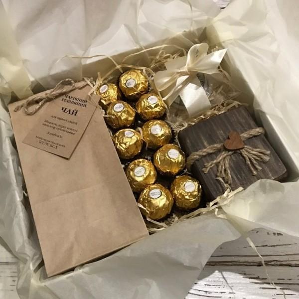"""Подарочный набор """"Чайный"""" №184 Подарки WOW BOX - 1"""