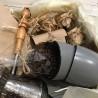 Кофейная турка медная с кофейными чашками в наборе