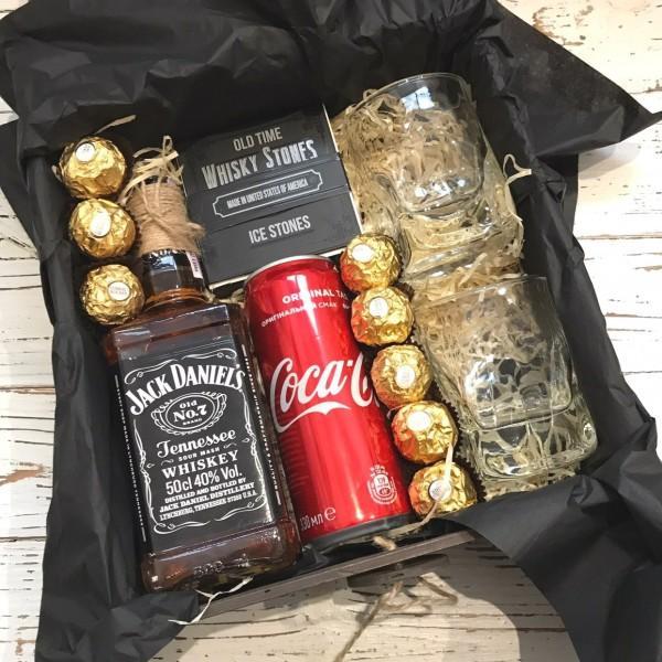 Подарунковий набір Jack Daniel's з бокалами №170
