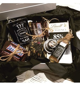 Подарунковий набір Jack Daniel's №168 Чоловічі подарункові набори - 1