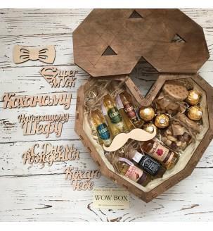 Подарунковий набір WOW BOX № 204 Чоловічі подарункові набори - 1