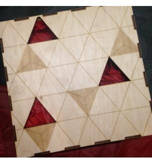 дерев'яна подарункова коробка з наповненням