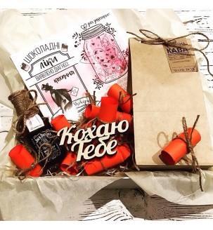 подарок любимому тематический шоколад