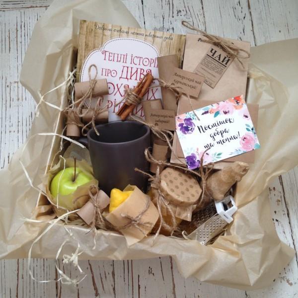 подарочный набор для приготовления чая