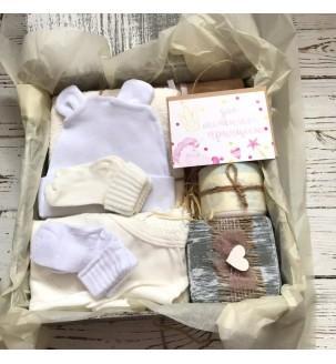 Набор-подарок на рождение ребенка №47 Детские подарочные наборы - 1