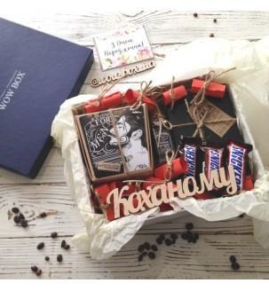 """Подарочный набор """"Мужчине"""" № 224 Подарки WOW BOX - 5"""