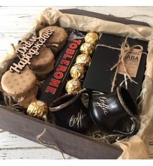 Кавовий набір для двох №246 Подарунки WOW BOX - 2