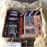 Подарунковий бокс з віскі, кавою і снікерсами №253 Чоловічі подарункові набори - 2